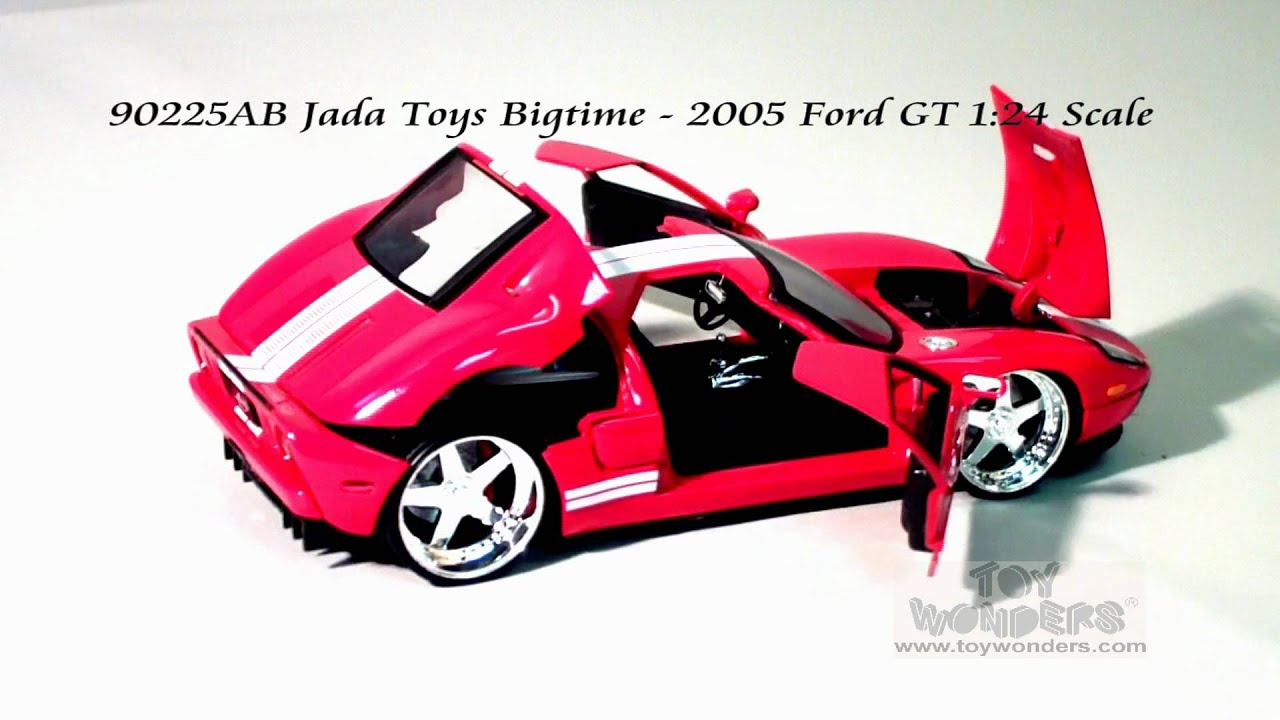 Ab Jada Toys Bigtime  Ford Gt  Scalecast Wholesale