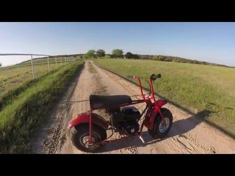 Coleman CT200U Gas-Bike Review + Startup & Ride!