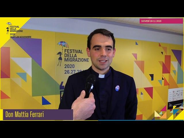 """Festival migrazione 2020 // Lettura dell'Enciclica """"Fratelli tutti"""" // Intervista don Mattia Ferrari"""