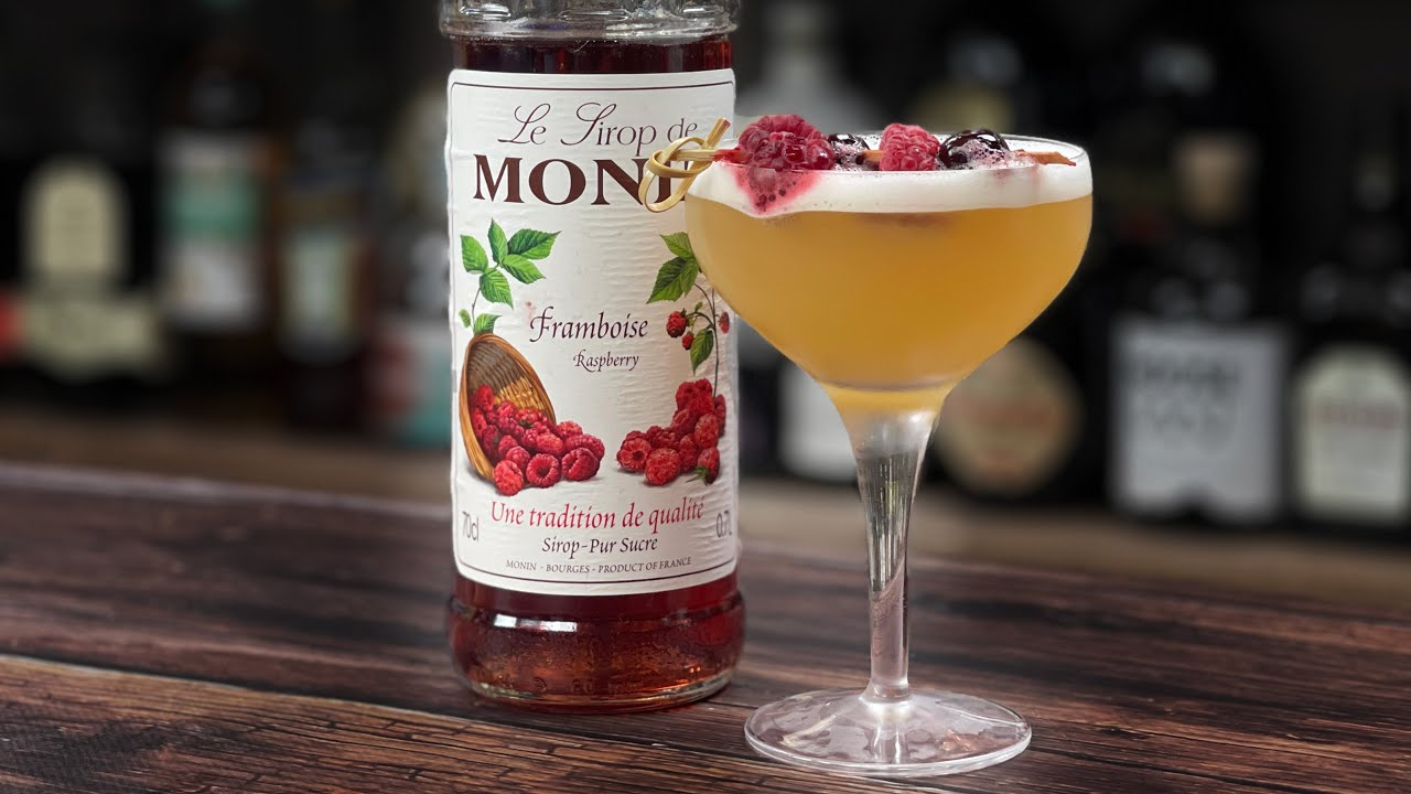 Raspberry Cocktails Recipes - *RIFF* on a French Martini with Elderflower