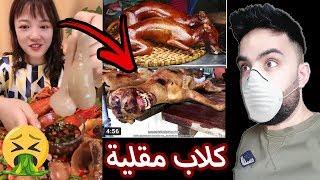 أكلات مقززة ياكلها الصينيين .. كلاب مقلية .. أتحداك تكمل الفيديو للاخر Fried Dogs