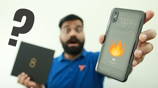 Xiaomi Mi 8 Explorer Edition Unboxing & First Look - Fake Transparent Phone??? 🔥🔥🔥