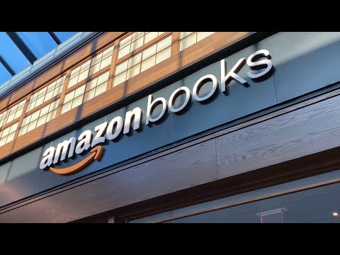 Visiting an Amazon Books store for the 1st time!