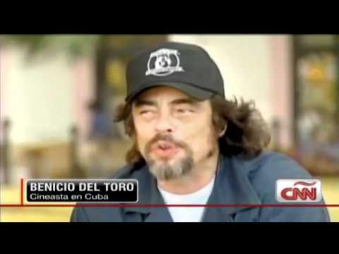 Benicio del Toro cuenta cómo ve La Habana