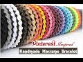 How To Make Macrame Bracelets   DIY   Handmade Jewellery Ideas   Thread Bracelet  Creation&you