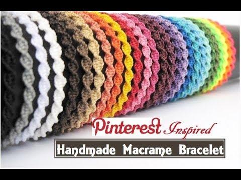 How To Make Macrame Bracelets | DIY | Handmade Jewellery Ideas | Thread Bracelet |Creation&you