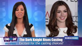 """Anne Hathaway(Catwoman)  & Tom Hardy(Bane)  Join """"The Dark Knight Rises"""""""