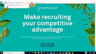 Greenhouse UI issues