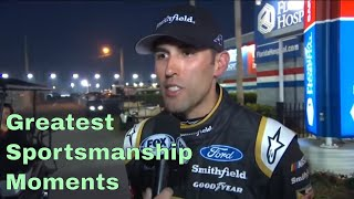 Greatest Sportsmanship Moments in NASCAR
