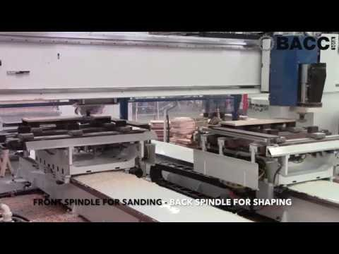 NEW BACCI MASTER PRO for cabinet doors shaping & sanding