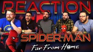 Spider-Man: Far From Home | Teaser Trailer REACTION!!