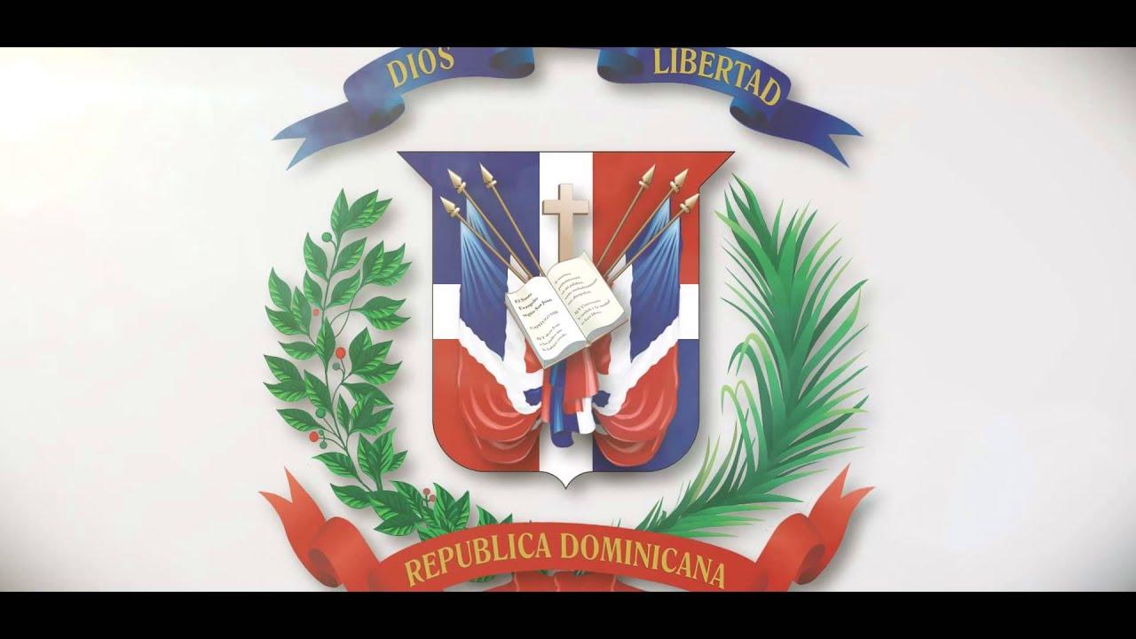 Escudo Bandera Republica Dominicana - YouTube