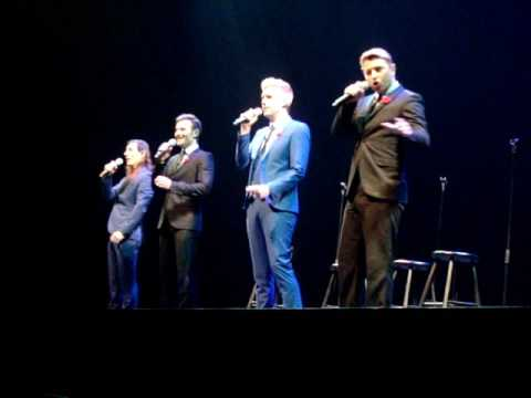 Collabro ~ Let It Go ~ Frozen Burlington Canada Nov 2016