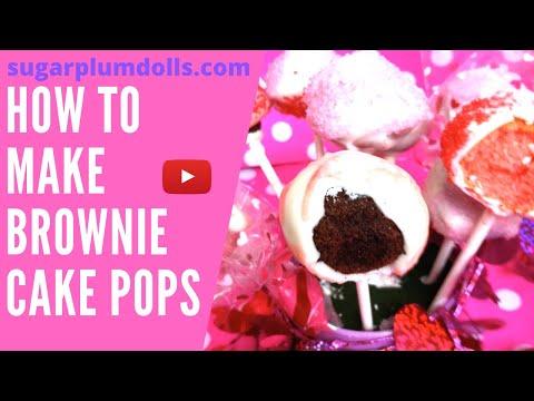 Brownie cake pops babycakes recipes