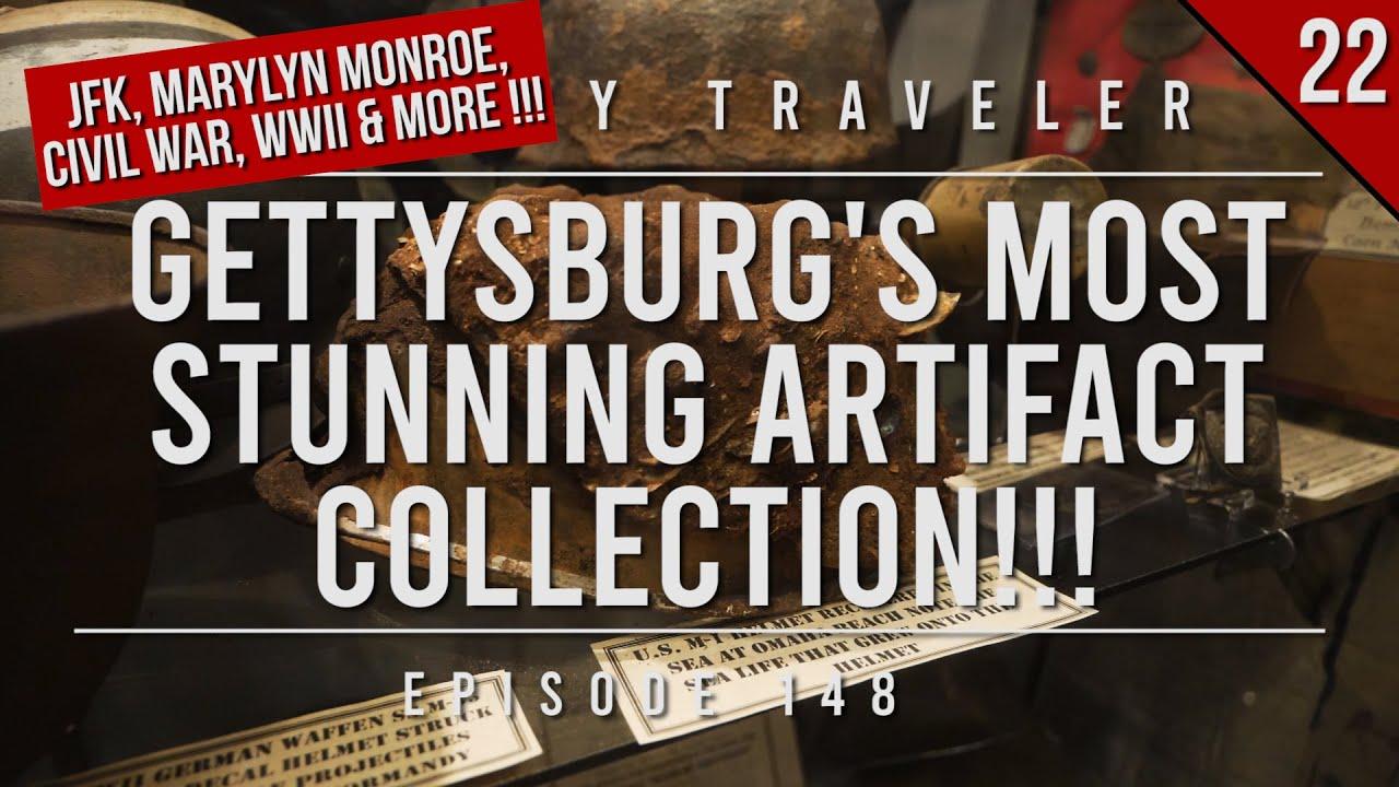 Gettysburg's Most STUNNING Artifact Collection (JFK, Marilyn Monroe) | History Traveler Episode 148