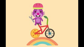 Nursery Sago Mini - Bikes 🛴🚲🛵 #kidstv #sagomini #kidslearn #kidsanimation
