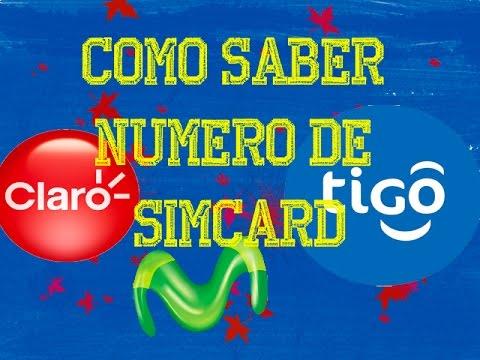 d0eb32e3baa Como saber numero de simcard Claro, Tigo y Movistar - Deybi Morales ...