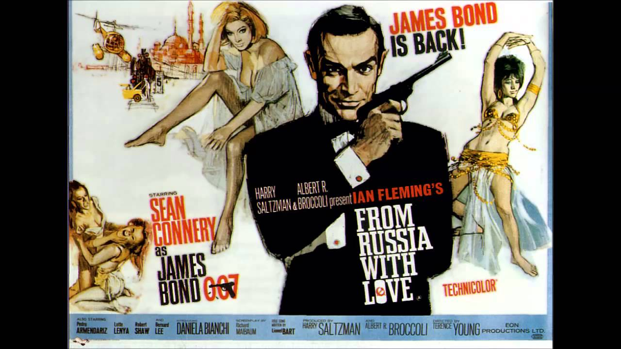 James Bond S Films Songs 02 From Russia With Love