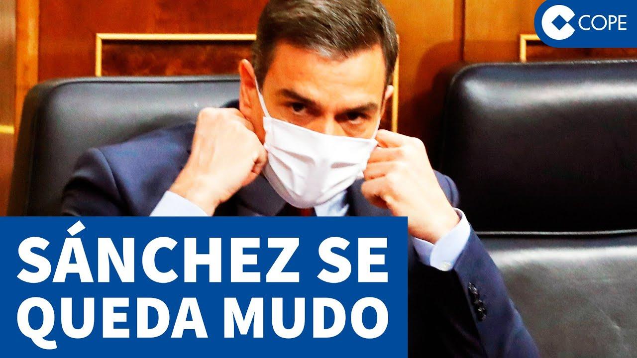 Pedro Sánchez se queda sin palabras ante esta pregunta