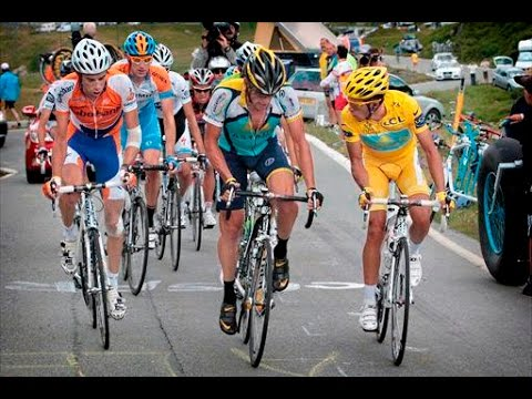 Tour 09 - stage 16 - Andy Schleck attack, Lance Armstrong comeback, Voigt crash