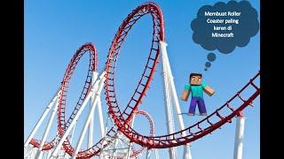 Cara membuat Roller Coaster Paling Keren di Minecraft