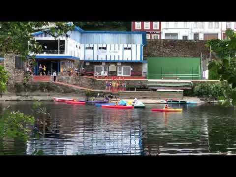 Campamento de verano en el Fluvial