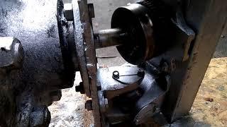 поворотный узел для минитрактора ( кардан из полуоси и шруса)