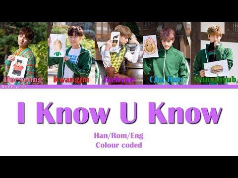 N.FLYING (엔플아잉) I KNOW U KNOW LYRICS (Han/Rom/Eng) COLOUR CODED