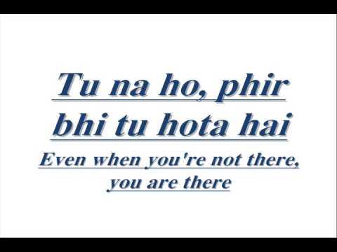 Teri galiyan lyrics with english subtitles