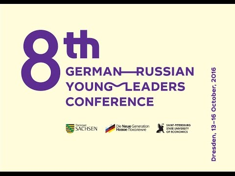 8th German-Russian Young Leaders Conference in Dresden