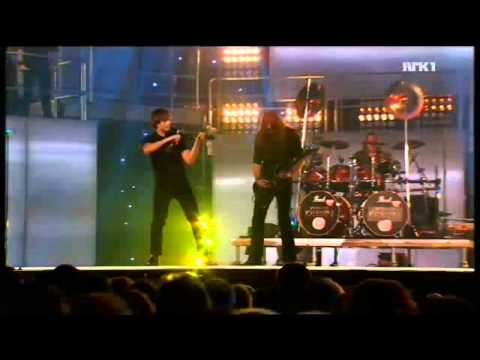 Keep of Kalessin & Alexander Rybak - MGP/Eurovision 2011 - The Divine Land