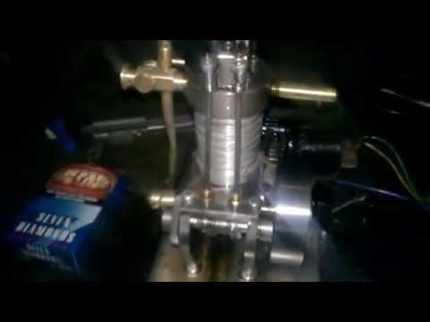 động cơ 4t 10cc  chạy xăng tự chế