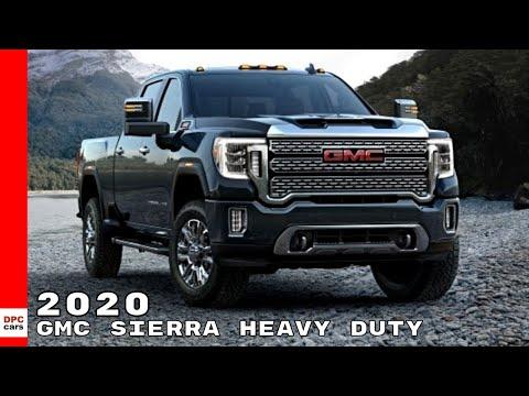 2020 GMC Sierra Heavy Duty Truck