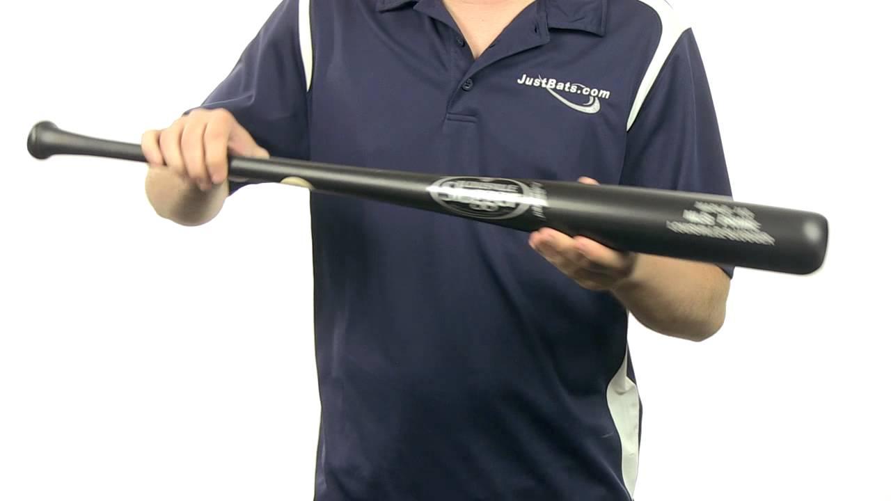 Louisville Slugger Mlb Prime Maple Wood Bat Black Matte