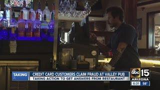 Credit card customers claim fraud at McFadden's