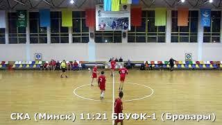 Гандбол. БВУФК-1 (Бров) - СКА (Минск)-28:12 (2-й тайм). Турнир В. Багатикова, г. Бровары, 2002 г. р.