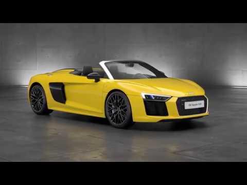 Audi R8 Spyder V10 – Drivetrain animation