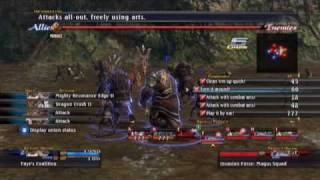"""The Last Remnant - Boss 08  """"Nest of Eagles"""" (P01/02)"""