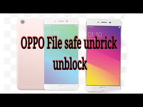 How to unlock file safe in Oppo