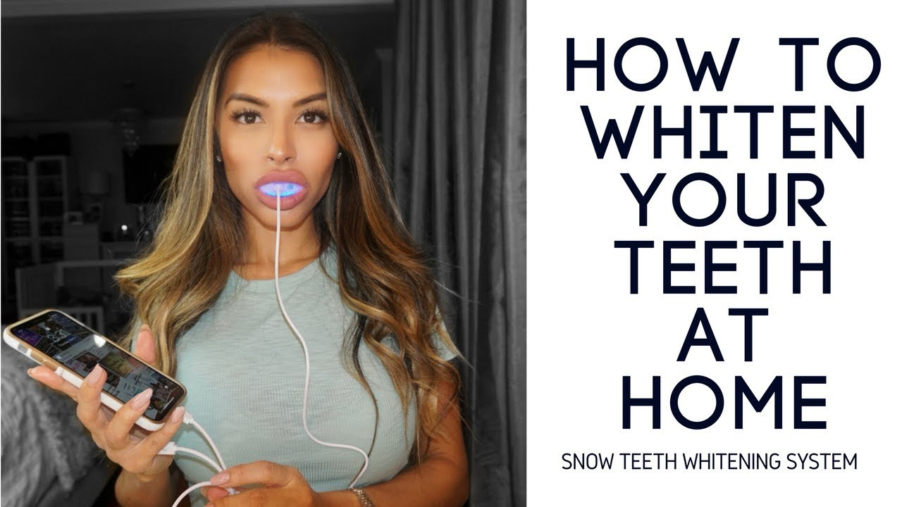 How Can I Get Free Kit  Snow Teeth Whitening