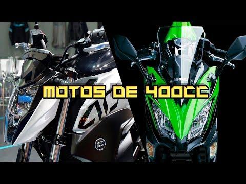 LA MEJORES MOTOS DE 400CC (2019)