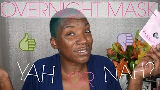 EXTRACTIONS, HAIR REMOVAL, AND OVERNIGHT MASK DEMO & REVIEW   BEAUTY BY KANDI