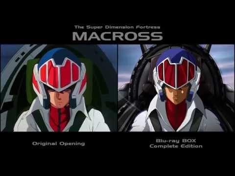 Macross Opening Video • Original & Blu-ray Edition Comparison