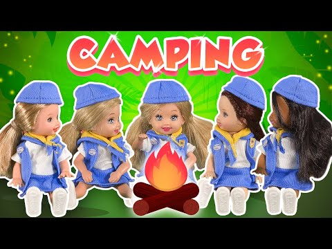 Barbie - Camping With The Girl Scouts | Ep.230