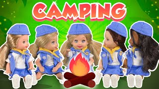 Barbie - Camping wİth the Girl Scouts | Ep.230