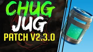 NEW Chug Jug CONSUMABLE - AUTO RUN OPTION | PATCH NOTES 2.3.0 FortNite Battle Royale AIM ASSIST