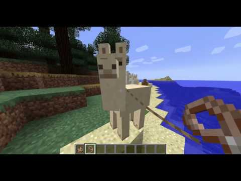 Minecraft - 11 Cosas que No Sabías de la LLAMA - Rabahrex