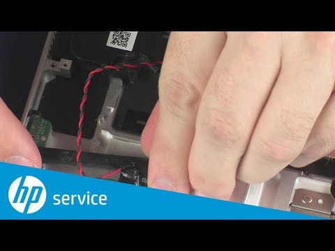 How to Replace the Real-time Clock (RTC) Battery | HP Spectre x360 15-bl000