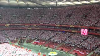 The national anthem of Poland/ Hymn Polski/ Poland-Serbia/ Volleyball Men