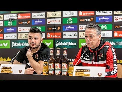 26. Spieltag | CFC - SGD | Pressekonferenz vor dem Spiel